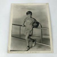 SCOTTY BECKETT SIGNED PHOTO OUR GANG Little Rascals Hal Roach Child Actor