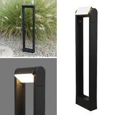 PREMIUM LED Stand-Leuchte 320° IP54 230V graphit 6W 210lm Sockel-Lampe für Außen