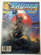 savage tales 2 marvel magazine 1985