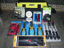 New 17pc Starter Electricians Tool Kit Screwdriver Pliers Multimeter Toolbag