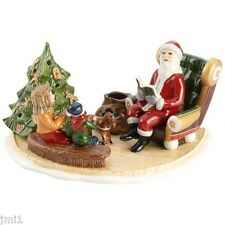 Villeroy & Boch CHRISTMAS TOYS Santa Reading Book #5967
