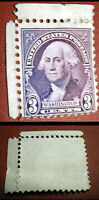 1932 3c Washington Scott 721 Mint F/VF Hinged Stamp UNUSED MINT