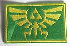 "Legend of Zelda Hyrule's Royal Crest Green Logo 3.5"" Patch- FREE S&H (ZEPA-003)"