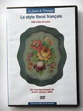 LE STYLE FLORAL FRANCAIS - DVD VIDEO DE COURS ENSEIGNEMENT DE D. JANSEN