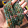 """5.8mm Round Natural Indian Agate Gemstone Loose Beads Jewelry Making Strand 15"""""""