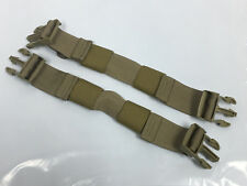 Allied Industries MBSS Rhodesian Adapter Kit RRV Back Plate Straps Set KHAKI