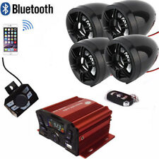 Bluetooth Wireless Speakers Audio System Stereo Mp3 Radio Atv Utv $83 Shipping