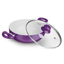 BRATmaxx Casserole Céramique 24 cm en violet