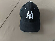 New York Yankees Cap Hat Embroidered NY NYC Men Adjustable velcro black