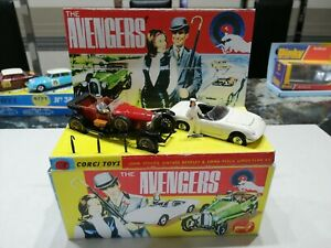 CORGI TOYS.     THE AVENGERS GIFT SET GS40