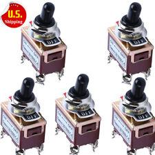 Lot5 Heavy Duty 20A 125V 15A 250V DPST On/Off 2 Position 4 TermToggle Switch