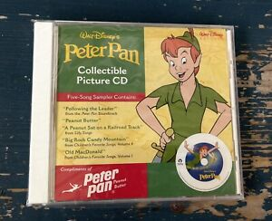 Walt Disney's Peter Pan Disney Picture CD 5 Songs Sampler