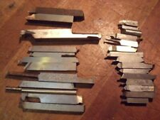Job Lot Of High Speed steel  Metal Cutting Lathe tool bits
