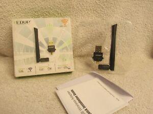 EDUP WIRELESS NETWORKING 2.4G 5.8G WIRELESS 11AC USB ADAPTER 1300MBPS BIN2