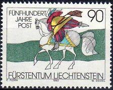 1990 LIECHTENSTEIN N°945**  Relations postale en Europe, Cheval, Horse MNH