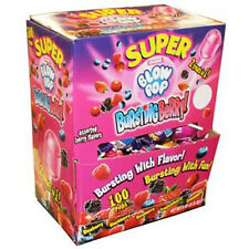 Charms Super Blow Pop Bursting Berry 1 Ct Each ( 100 In A Pack )