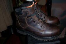 "Timberland Pro Size 10.5 Men brown Powerwelt 6"" STeel toe Boots"