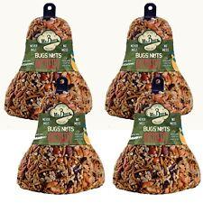 4-Pack of  00006000 Mr. Bird Bugs, Nuts, Fruit Wild Bird Seed Bell 12.5 oz.