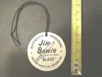 1950's Jim Bowie and Blaze for Western Rider set custom Hang Tag