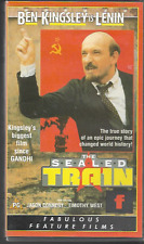 THE SEALED TRAIN (LENIN) VHS VIDEO PAL UK FORMAT BEN KINGSLEY JASON CONNERY VGC
