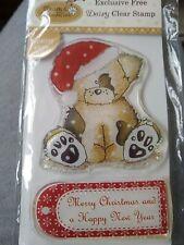 Christmas 'Daisy & Dandelion' Clear Stamp Set