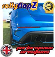 Mudflaps Ford Focus RS MK3 MUD FLAPS RallyflapZ Negro KAYLAN Poliuretano & LOGOTIPO