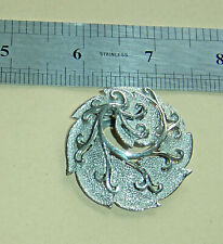 Scarf Ring Quality Pierced Scroll Worked