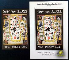 Original Jamy Ian Swiss The Honest Liar Program and Postcard