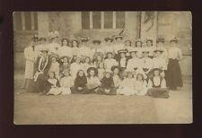 Hampshire CHRISTCHURCH YWCA Senior Division Daisy House c1909 RP PPC Geo Moss