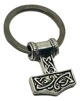 Viking Bear Claw Bag Charm Keyring Ladies Mens Norse God Odin Thor Lucky Icon