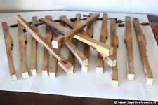 VECCHI PEZZI DI RICAMBI X PIANOFORTE ANTICO - SEDICI TASTI ANTICHI X TASTIERA