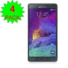4X Ultra Clear Screen Protector Guard Cover Film for Samsung galaxy note 4 + PAK