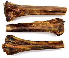 3 x Large Ostrich Metatarsus Bones. 100% Natural Long Lasting Dog Chew