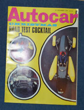 December Autocar Cars, 1960s Transportation Magazines