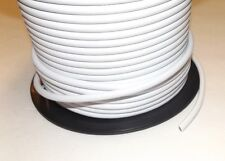 3 FEET OF WHITE PVC 3-WIRE COVERED PULLEY PENDANT LAMP CORD NEW 46626JB