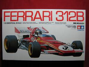 BIG Ferrari 312B 1/12 Scale Tamiya F1 Formula 1 Kit Rare Andretti Ickx Regazzoni