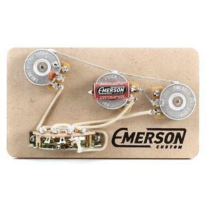 Emerson Custom Strat 5-Way Prewired Kit - FREE shipping!