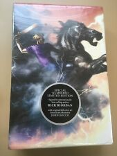 The Heroes of Olympus: The Mark of Athena by Rick Riordan, Signed Limited