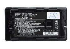 7.4V Battery for Panasonic HDC-SD10 HDC-SD100 HDC-SD100GK VW-VBG6 Premium Cell
