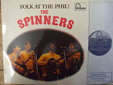 STL5219 The Spinners - Folk At The Phil! 1964 LP