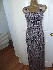 Atmosphere Aztec Maxi Long Bodycon Dress UK 6