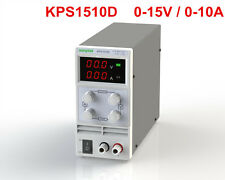 Mini Adjustable Switch DC Power Supply KPS1510D Output 0-15V 0-10A AC110-220V
