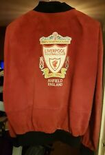 Very Rare official Liverpool fc Suede Jacket, mens XL