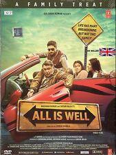 ALL IS WELL - ABHISHEK BACHAN / ASIN / NEW BOLLYWOOD DVD