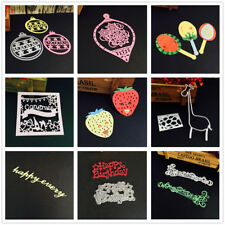 DIY Scrapbooking Metal Cutting Dies Stencils Embossing Album Paper Card Craft