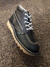 ~Kickers~Kick Hi Dark Blue Boots Uk10 ~Iconic Styling~