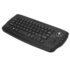 36d8c85930e E30 2.4GHz Wireless Keyboard with Trackball Mouse Scroll Wheel Remote I5Q7
