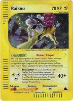 CCG 58 Pokemon Skyridge Holo Raikou H26/H32 Deutsche Karte BGS / PSA 9.0 ?