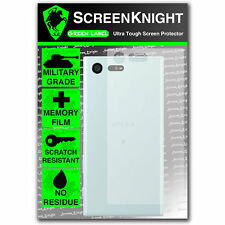 ScreenKnight Sony Xperia X Compact BACK SCREEN PROTECTOR - Military shield