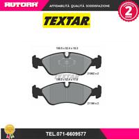 2186201-G Kit pastiglie freno a disco ant Chevrolet-Daewoo-Opel (TEXTAR)